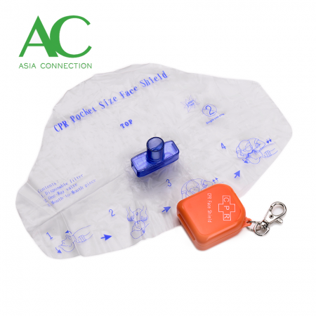 CPR Face Shield / CPR Barrier / Mouth Barrier / Barrier Device - CPR Face Shield