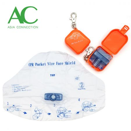 CPR Face Shield with Case