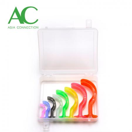 Cor Codificado Berman Oral Airway Kit / Cor Codificado Berman Orofaríngea Airway Kit / Cor Codificado Berman OPA Kit - Kit de Via Oral para Berman com Código de Cores