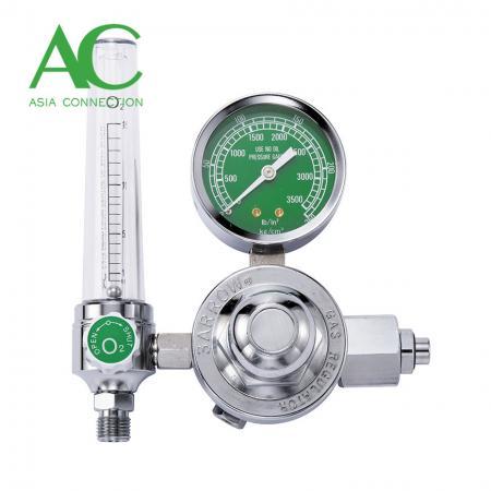 流量計付き酸素レギュレーター - 流量計付き酸素レギュレーター