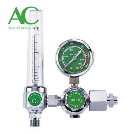 Oxygen Regulator with Flowmeter