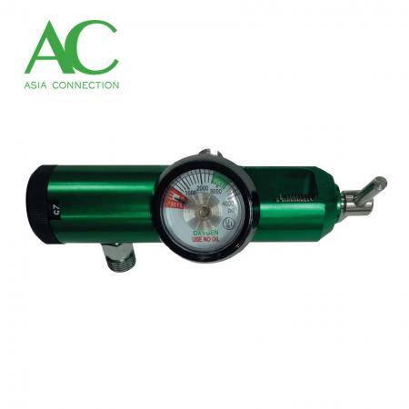 ピンインデックス酸素レギュレーター