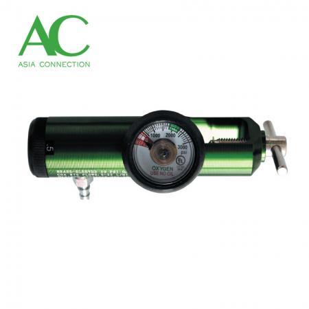 スクリュータイプフィッティング付きピンインデックス酸素レギュレーター