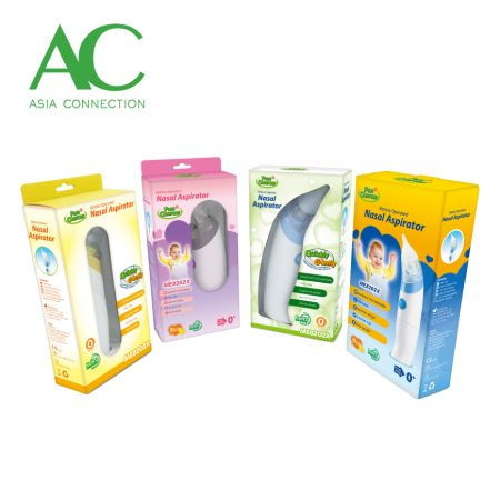 Electric Nasal Aspirator Various Packaging Options