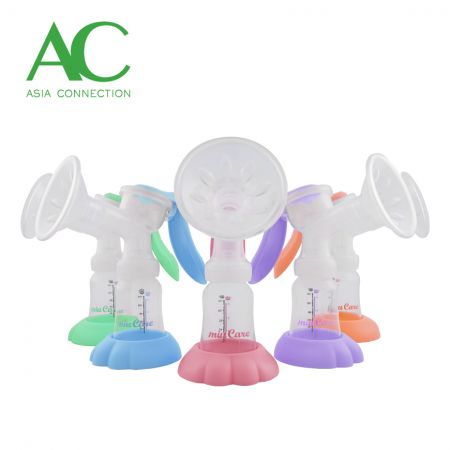 Manual Breast Pump Various Colors