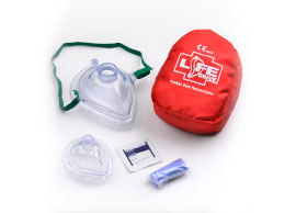 CE e FDA CPR Pocket Mask