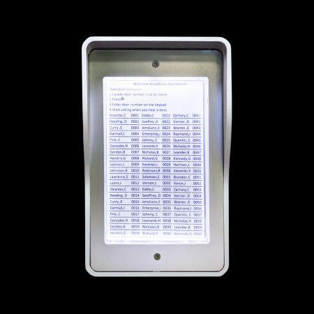 鋁合金LED燈箱 - Lighted Directory-01