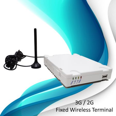 3G Fixed Wireless Terminal - Least Cost Routing