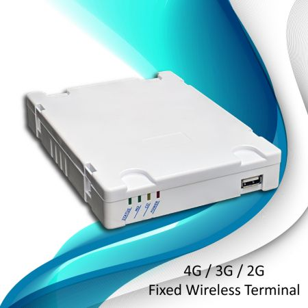 Fixed Wireless Terminal - Least Cost Routing