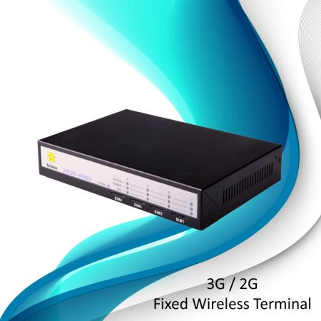 GSM Fixed Wireless Terminal- 4 Ports - GSM Fixed Wireless Terminal