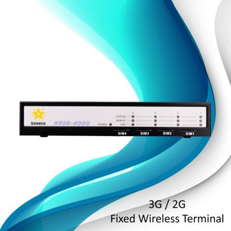 3G-固定無線端末-4枚のSIMカード