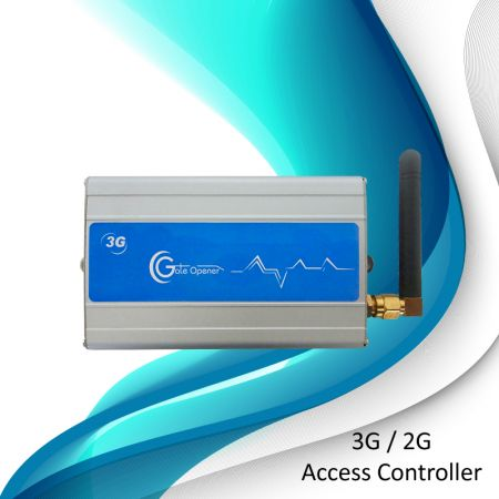 GSM / 3G Access Controller - Two Doors Opener with Battery