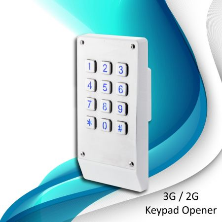 3G Digital GSM Access Control - 3G Door Opener with Keypad