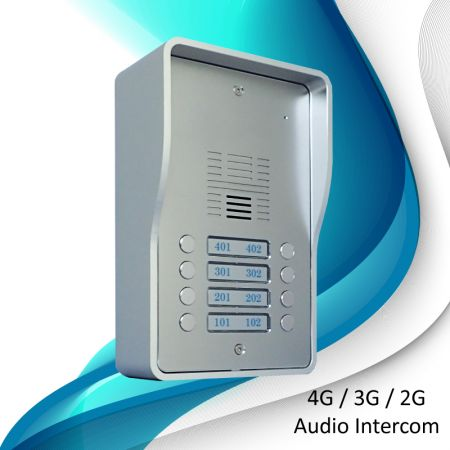 3G Audio Intercom Systems (8 households) - 3G door station SS1603-08