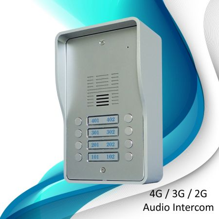 3G Audio Intercom Systems (8 households) - 3G doorbell SS1603-08