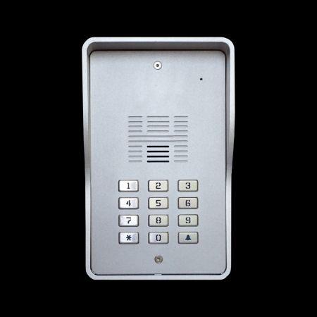 Sistema de intercomunicação 4G Digital VoLTE GSM (multi-residente) - Porteiro Eletrônico 4G SS1603-12
