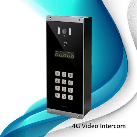 4G-Video-Digital türsprechanlage (Mehrere Einwohner)