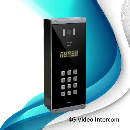 Intercomunicador digital de vídeo 4G (multi-residente) - Intercomunicador digital de vídeo 4G (multi-residente)