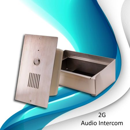 GSM intercom (Horizontal) - GSM Door Phone (Horizontal style)