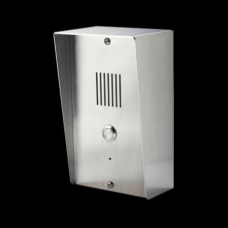 Intercomunicador GSM (vertical) - Porteiro eletrônico GSM (estilo vertical)