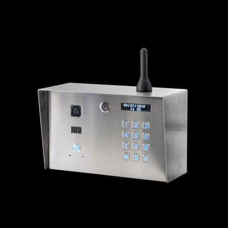 WiFi Video Keypad Gooseneck Intercom - WiFi Video Keypad Intercom