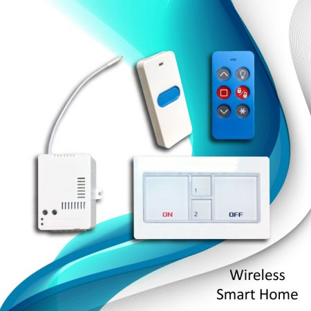 Casa inteligente sem fio - Wireless-Smart-Home