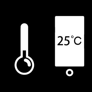 Drahtlose Temperaturregelung