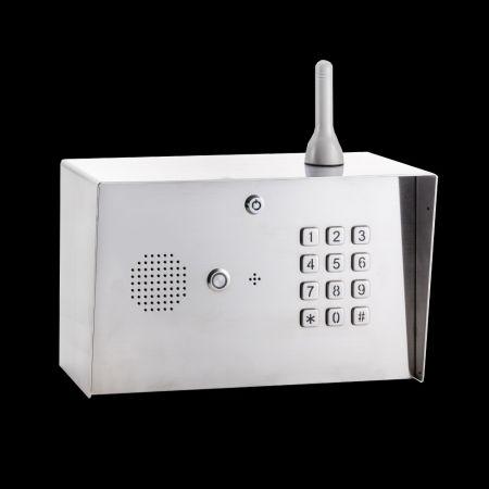 Intercomunicador Gooseneck 4G Digital GSM - Painel do teclado do interfone LTE