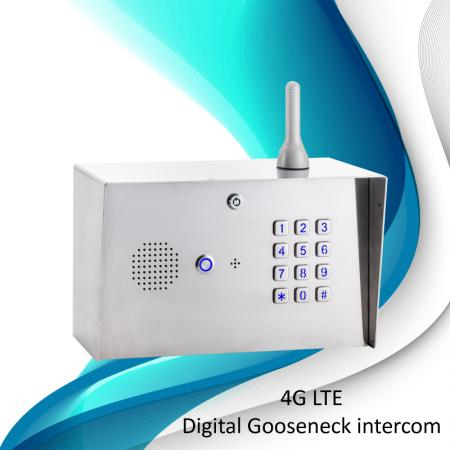 Intercomunicador Gooseneck 4G Digital GSM