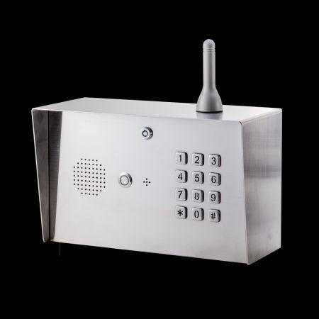 Citofono GSM digitale 4G a collo di cigno - Pannello della tastiera del citofono LTE-2