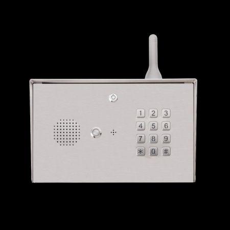 Citofono GSM digitale 4G a collo di cigno - Pannello tastiera del citofono LTE-3