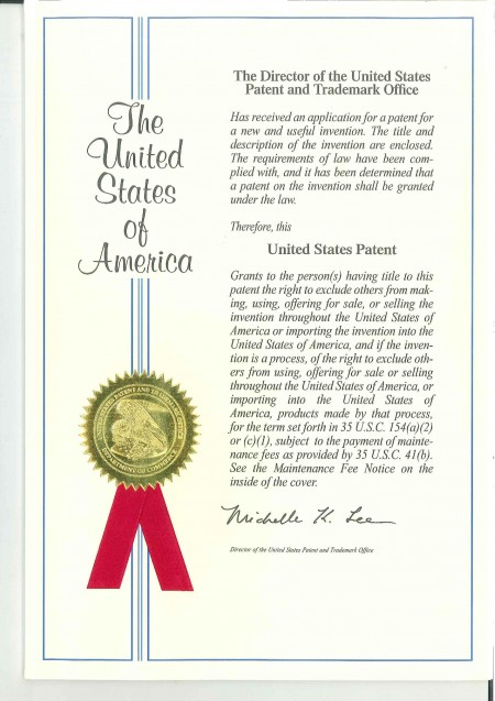USA Patent No. US9174695B1-P1
