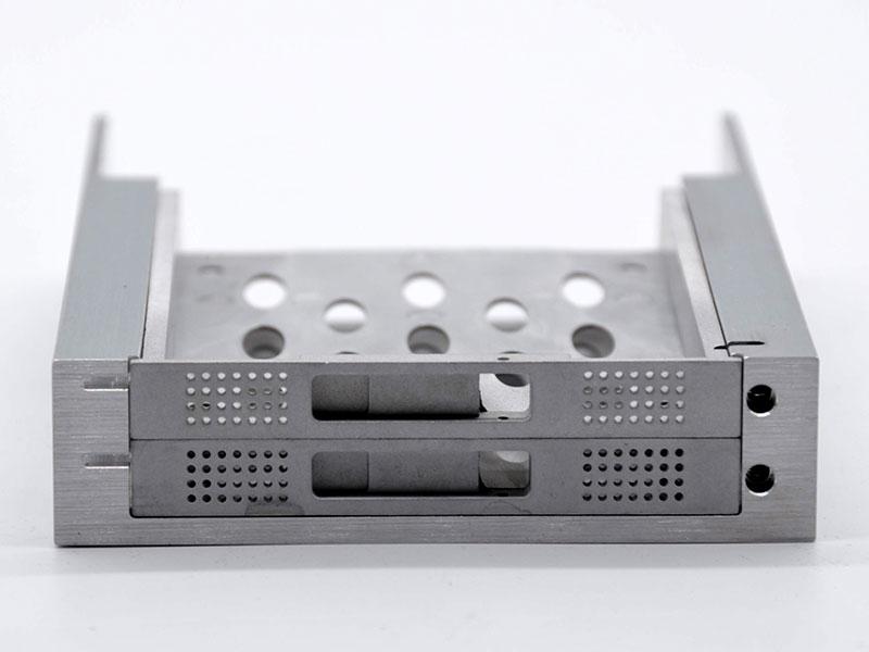 Aluminum raid storage chassis