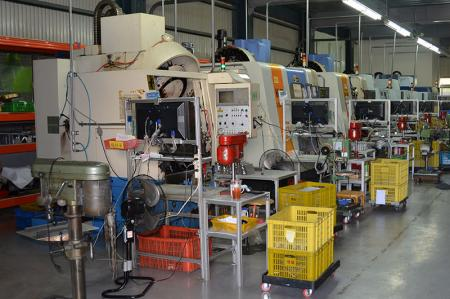 CNC銑床機台