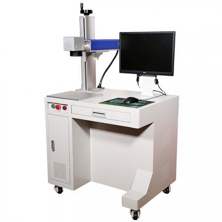 金属またはアルミニウム製品のパターン、マーク、テキスト、バーコードをレーザーで照射します。