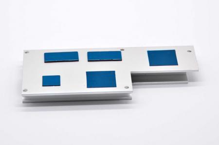 Thermal conductive pad with heatsink.