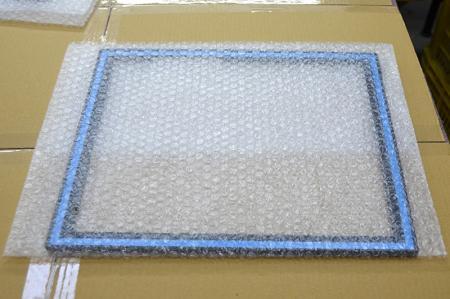 Embalaje con bolso de burbuja