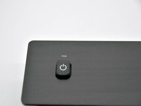 Boton y placas de interruptores de aluminio - Placas de interruptores personalizadas