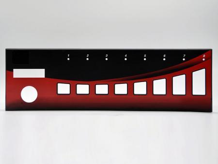 Paneles frontales de aluminio del amplificador - Placa frontal de aluminio