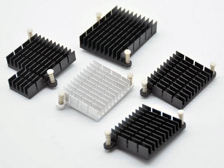 Disipadores de calor de la placa base - disipadores de calor de aluminio personalizados