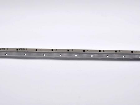 Support de revêtement noir d'usinage CNC - Support imprimé personnalisé