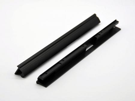 Support anodisé noir - Support en aluminium de fraisage CNC
