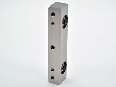 Electoless nickeled alumium handles - CNC milling aluminum-handles