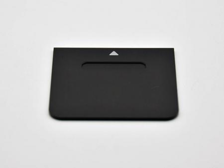 Placas de interruptores de aluminio - Placas de interruptores personalizadas