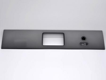Placas frontales del amplificador en gris - Paneles frontales del amplificador