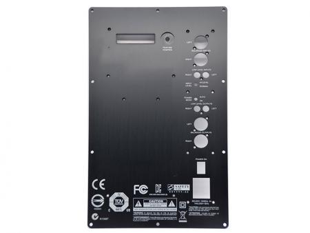 Plaques avant d'amplificateur en noir - Panneaux avant de l'amplificateur