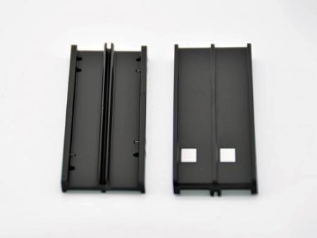 CNCフライス盤+陽極酸化+レーザー加工