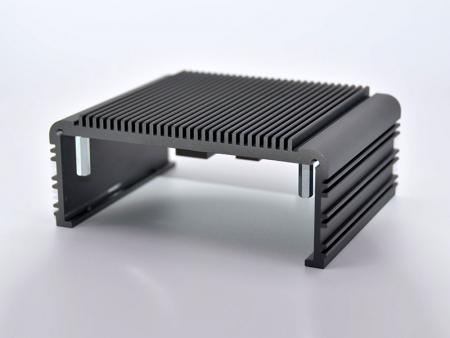 Black anodizd embedded chassis - Customize Embedded Chassis