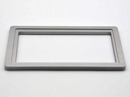 marco de aluminio en plata - Marcos de aluminio personalizados
