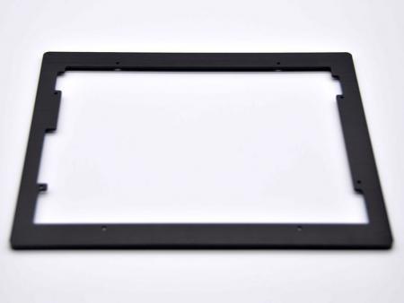 Cadre en aluminium en noir - Cadres en aluminium personnalisés